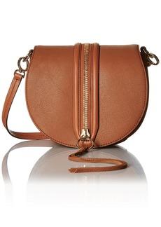 Rebecca Minkoff Mara Saddle Bag Shoulder Bag ALMOND