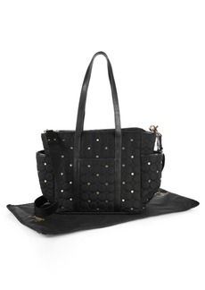 Rebecca Minkoff Marissa Quilted & Studded Diaper Bag