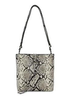 Rebecca Minkoff Megan Snake Printed Leather Shoulder Bag
