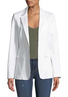Rebecca Minkoff Merilee One-Button Stretch Cotton Jacket