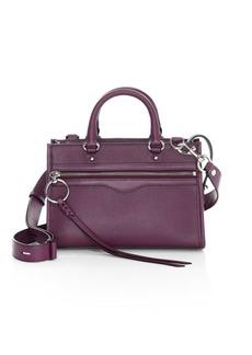 Rebecca Minkoff Micro Bedford Leather Zip Satchel