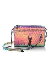 Rebecca Minkoff Mini Mac Hologram Crossbody Bag
