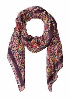 Rebecca Minkoff Painterly Floral Long Scarf