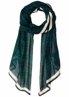 Rebecca Minkoff Plaid Long Scarf