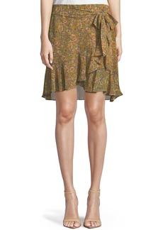 Rebecca Minkoff Alice Draped Ruffle Skirt