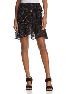 Rebecca Minkoff Alice Floral Print Ruffle Skirt