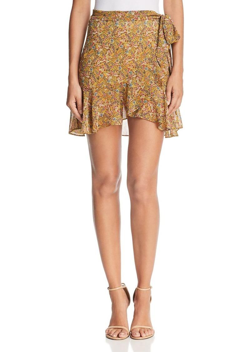 Rebecca Minkoff Alice Micro Floral-Print Skirt