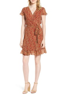 Rebecca Minkoff Ana Floral Wrap Dress