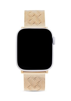 Rebecca Minkoff Apple Watch� Gold-Tone Heart-Pressed Mesh Bracelet, 38mm & 40mm