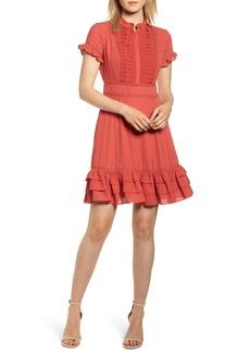 Rebecca Minkoff Ariel Tiered Ruffle Hem Dress