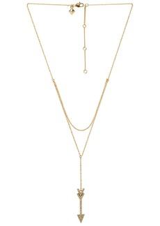 Rebecca Minkoff Arrow Layered Y Necklace
