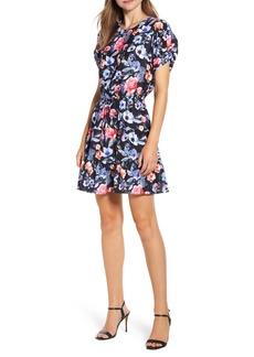 Rebecca Minkoff Aston Floral Print Minidress