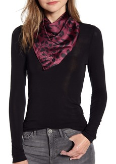 Rebecca Minkoff Autumn Vines Square Silk Scarf