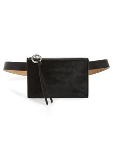 Rebecca Minkoff Ava Genuine Calf Hair Belt Bag