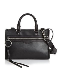 Rebecca Minkoff Bedford Micro Leather Zip Satchel