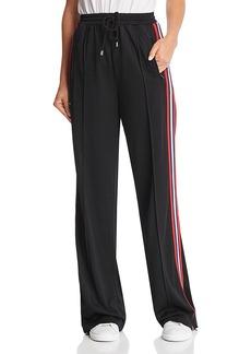 Rebecca Minkoff Betsy Oversized Racing-Stripe Drawstring Pants