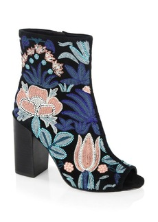 Rebecca Minkoff Bridget Embroidered Leather Boots