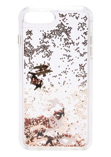Rebecca Minkoff Birds Glitterfall iPhone 7 Plus Case