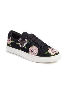 Rebecca Minkoff Bleecker Floral Embroidered Sneaker (Women)