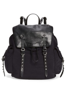 Rebecca Minkoff Bowie Leather & Nylon Backpack