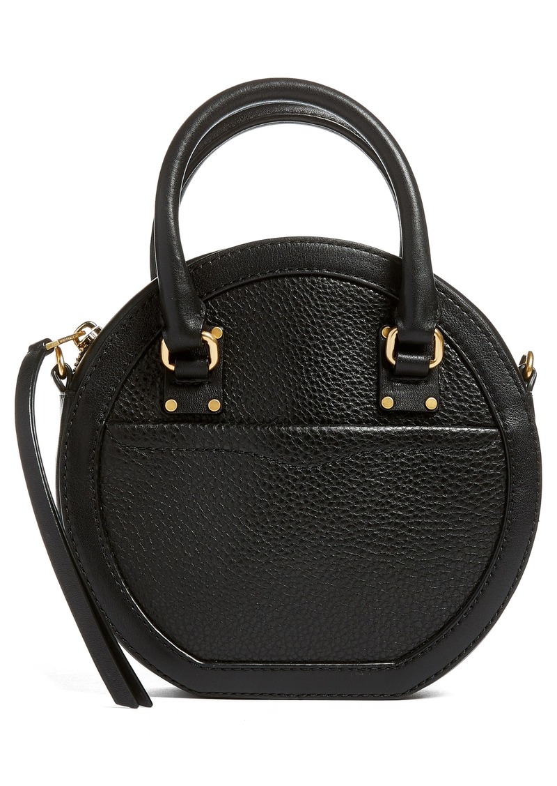 c4f1a30300 Rebecca Minkoff Rebecca Minkoff Bree Circle Leather Crossbody Bag