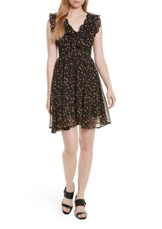 Rebecca Minkoff Brista Fit & Flare Dress