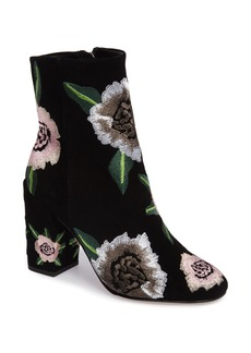Rebecca Minkoff Bryce Flower Embroidered Bootie (Women)
