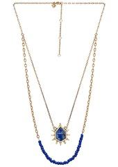 Rebecca Minkoff Burst Double Row Necklace