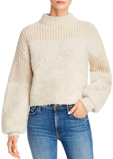 Rebecca Minkoff Chase Mixed-Knit Sweater
