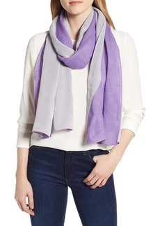Rebecca Minkoff Colorblock Cotton Scarf