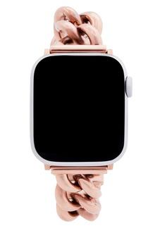 Rebecca Minkoff Curb Link Apple Watch® Bracelet