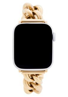Rebecca Minkoff Curb Link Apple Watch® Bracelet Strap