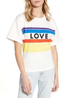 Rebecca Minkoff Cydney Love Stripe Graphic Tee