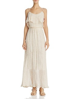 Rebecca Minkoff Decklan Ruffled Floral-Print Maxi Dress