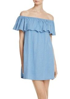 Rebecca Minkoff Diosa Off-the-Shoulder Dress