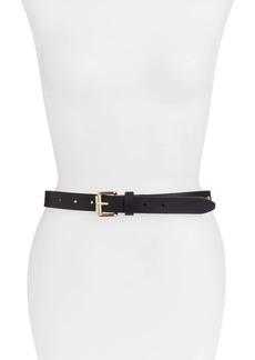 Rebecca Minkoff Dome Stud Leather Belt