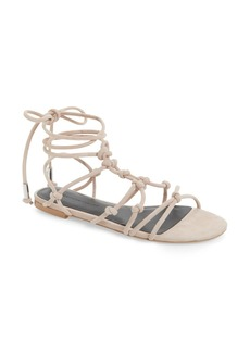 Rebecca Minkoff Elyssa Lace-Up Flat Sandal (Women)