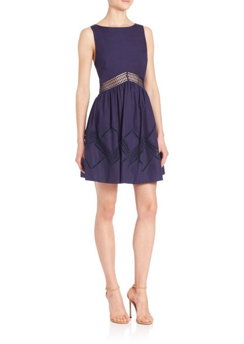 Rebecca Minkoff Embellished Waistband Dress