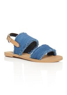 Rebecca Minkoff Emery Denim Slingback Sandals