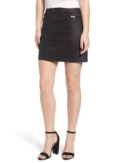 Rebecca Minkoff Emery Stretch Cotton Blend Mini Skirt