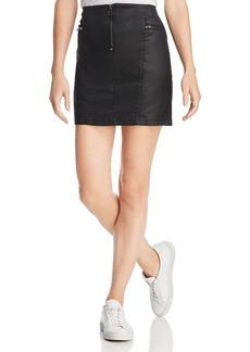 Rebecca Minkoff Emery Zip-Detail Mini Skirt