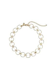 Rebecca Minkoff Encircled Floating Pearls Choker