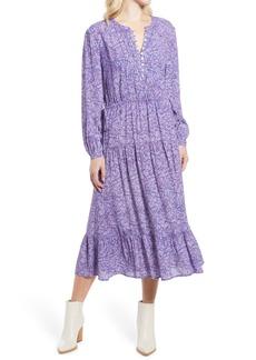 Rebecca Minkoff Esme Floral Long Sleeve Dress