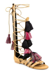 Rebecca Minkoff Eve Tall Leather Gladiator Sandals