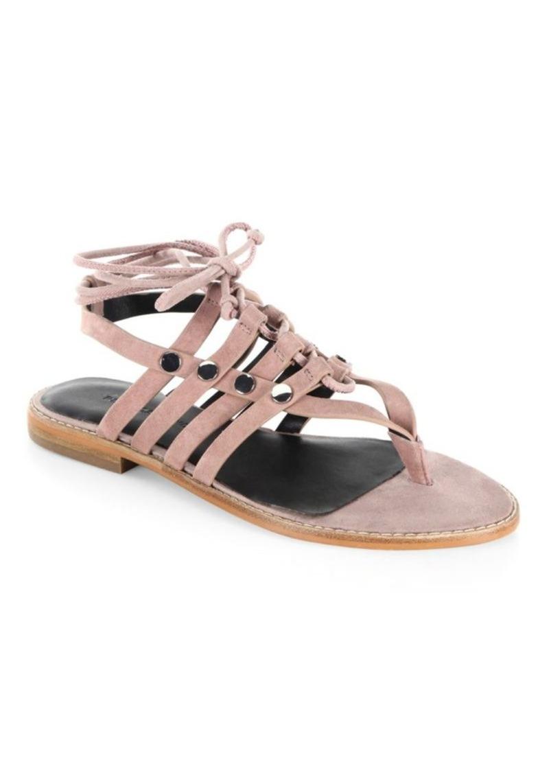Rebecca Minkoff Evonne Leather Flat