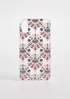 Rebecca Minkoff Fan Print iPhone X Case