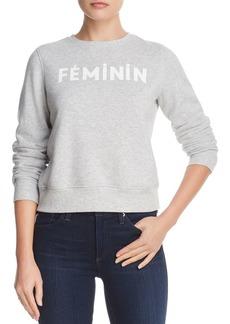 Rebecca Minkoff Feminin Graphic Sweatshirt