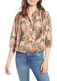 Rebecca Minkoff Fleur Printed Shirt