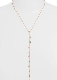 Rebecca Minkoff Floating Triangles Y-Necklace