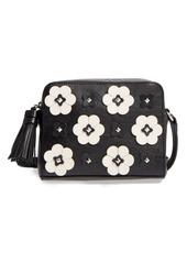 Rebecca Minkoff Floral Appliqué Leather Camera Bag